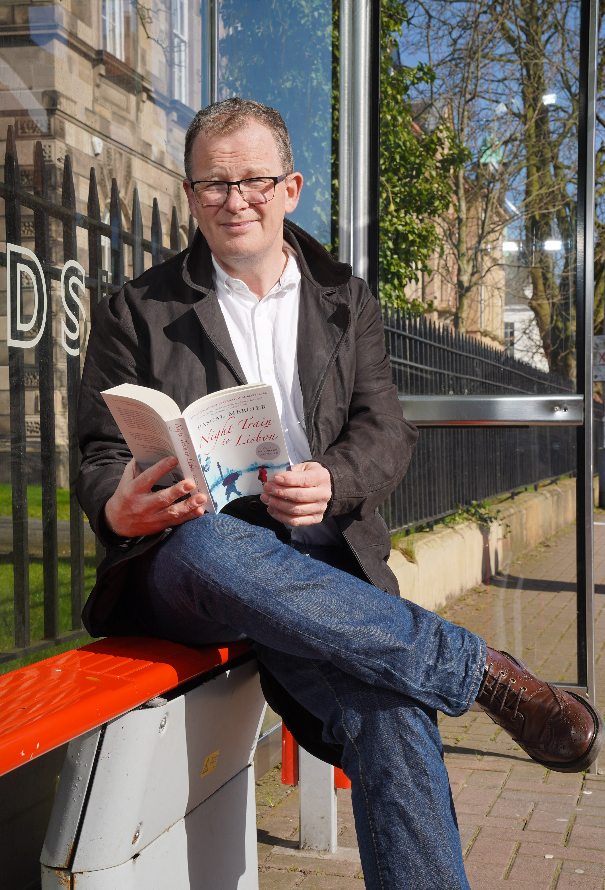 Pictured is author Brian McGilloway