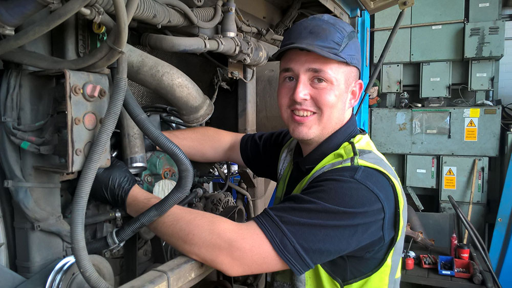 Picture of Kevin Doherty a 3 Year Apprentice